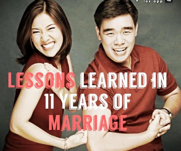 Lessons Learned in 11 Years of Marriage